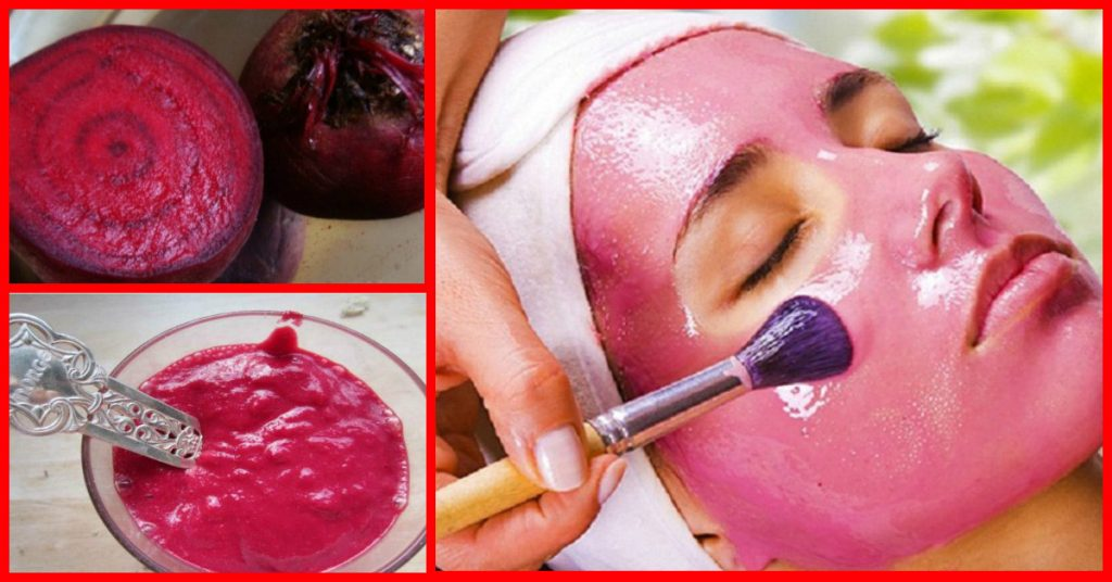 WHITENING AND YOUNG FACE WITH BEETROOT MASK – Mori's Travel Blog